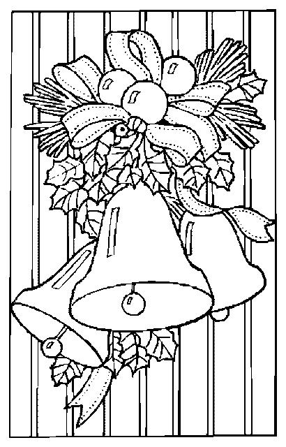 Obrázek vanocni omalovanky 18