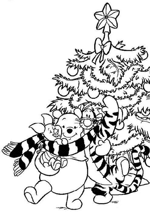 vanocni-omalovanky-59 - Omalovánky pro děti online k vytisknutí zdarma - Omalovánky pro děti ...
